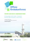 Offene Krebskonferenz am 18. November 2017