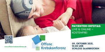 9. Offene Krebskonferenz – Patienten-Infotag am 09. Oktober 2021